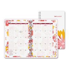 Day Runner Floral Explosion Monthly Desk Planner