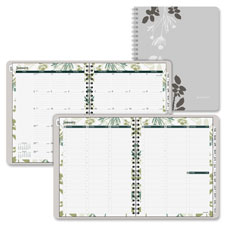 Day Runner Botanique Tabbed Weekly/Monthly Planner