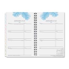Franklin Classic Botanica Wirebound Weekly Planner