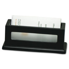 "Business card holder, 4-3/10""x1-5/8""x1-4/5"", midnight bk, sold as 1 each"