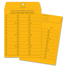 "Inter-dept envelopes, 28 lb.,self-seal,10""x13"", 100/bx, bkft, sold as 1 box, 100 each per box"