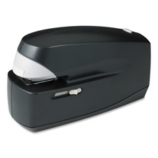 Electric stapler, 25 sht/210 cap., 35mm throat, black, sold as 1 each