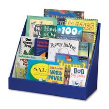 "Book shelf, classroom keeper, 3 tiered, 17""x20""x10"", blue, sold as 1 each"
