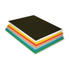 "Foam board, 20""x30"", 3/16"" thick, 12/pk, assorted, sold as 1 carton, 10 sheet per carton"