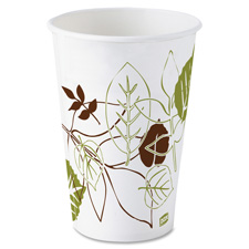 Cold cups, 12oz., double polycoated, 1200/ct, white, sold as 1 carton, 24 package per carton