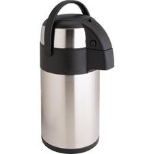 Vacuum pump pot, 3.0l, stainless steel, sold as 1 each