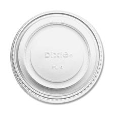 Souffle cup lids, 2oz., 2400/ct, white, sold as 1 carton, 1000 each per carton