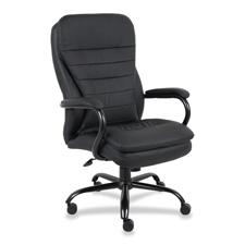 """Executive chair,dbl cushion, 33-1/2""""x31""""x45-1/2"""", black, sold as 1 each"""