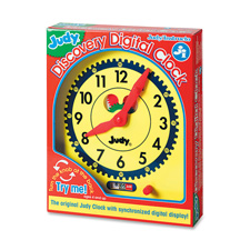 Judy discovery digital clock, multi color, sold as 1 each