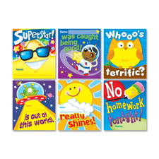 Award coupon set, 6/pk, multi-color, sold as 1 package