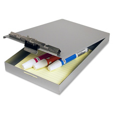 "Clipboard/citation holder, 1"" storage cap, aluminum, sold as 1 each"