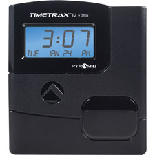 Ez proximity time clock system, w/15 badges,black, sold as 1 each