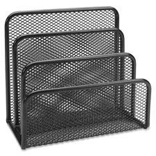 "Vertical sorter, 5-5/8""x3-1/8""x5-1/4"", black mesh, sold as 1 each"