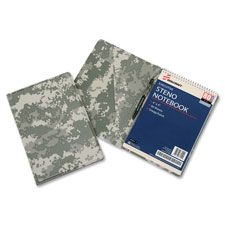 "Steno pad holder, 6-1/2""x9-1/2"", camouflage, sold as 1 each"
