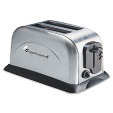 "2-slice toaster , 8""x10""x10"", silver, sold as 1 each"