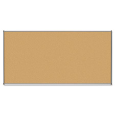 Natural cork board, 4'x3', satin finish, sold as 1 each