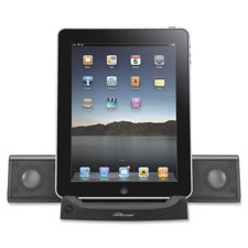 Universal tablet sound system, 4-watt, black, sold as 1 each