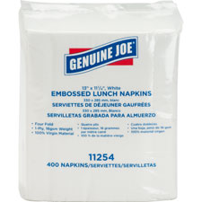 "Luncheon napkins,1-ply,13""x11-1/4"",400sh/pk,2400/ct,we, sold as 1 carton, 30 package per carton"