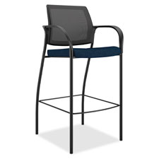 "Cafe height stool, mesh back, 25""x23""x46-1/2"", poppy, sold as 1 each"