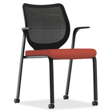 HON Nucleus ilira-stretch M4 Back Stacking Chair | by Plexsupply