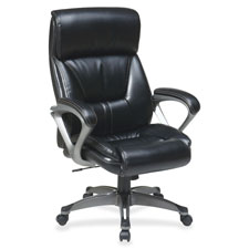 "Executive eco chair, 27-1/2""x28-1/4""x46-1/2"", black, sold as 1 each"