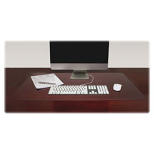 "Desk pad, rectangular, non-glare, 36""x20"", clear, sold as 1 each"