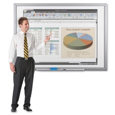 "Interactive whiteboard, 2""x3""x1"", black, sold as 1 each"
