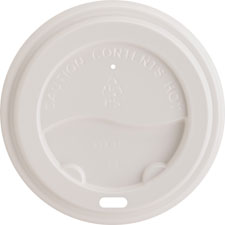 Ripple cup lid, 10-16oz., 50/pk, white, sold as 1 package, 20 package per package