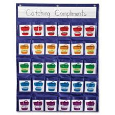 "Reinforcement pocket chart, 22""x29"", assorted, sold as 1 each"