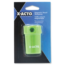 Magnetic pencil sharpener, spill proof, lt. green, sold as 1 each