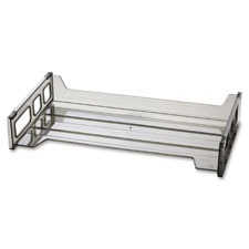"Side loading stackable desk tray, 16-1/4""x9""x2-1/4"", sm, sold as 1 each"