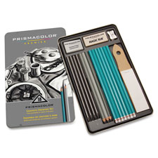 Graphite drawing set, 18 piece set, sold as 1 package, 12 each per package