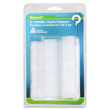 """Tagger j-hooks, 2"""", 12/pk, clear/green, sold as 1 package, 2 each per package"""