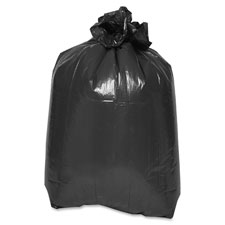 "Trash container liners, 38""x58"", 2mil, ld, 100/ct, black, sold as 1 carton, 100 each per carton"