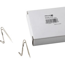 Panel wire hooks, 24/bx, silver, sold as 1 box