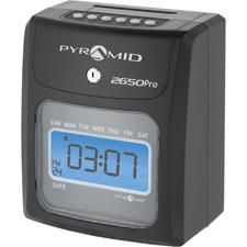 "6-column time clock , 6-1/2""x4-3/4""x8"", gray, sold as 1 each"