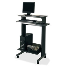 "Stand-up workstation, casters,29-1/2""x19-5/8""x44-1/4"",ccl/sr, sold as 1 each"