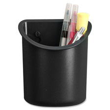 Recycled pencil cup, black, sold as 1 each