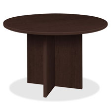 "Round conference table, 42""x42""x29"", espresso, sold as 1 each"