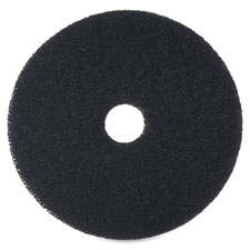 """Floor stripping pads, 20"""", 5/bx, black, sold as 1 box"""