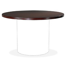 "Round tabletop,46"" diameter,mahogany, sold as 1 each"