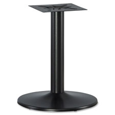 "Steel table base, f/42""/48"" tabletops, 24""x24""x29"", black, sold as 1 each"