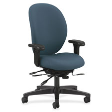 "Exec high-back chair,w/seat guide,41-1/2""x27""x45-1/4"", ogn, sold as 1 each"