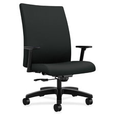 "Big and tall work chair, 32-1/4""x28""x43-1/8"", poppy, sold as 1 each"