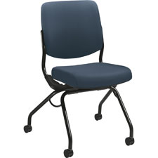 "Armless nesting chair, 26""x26""x36"", cerulean, sold as 1 each"