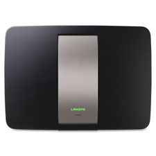 """Wireless router, 2 usb ports, 450n, qos, 8""""x6""""x4"""", black, sold as 1 each"""