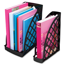 "Magazine files, jumbo, 6-1/4""x10""x11-7/8"", black, sold as 1 each"