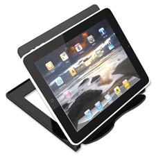 "Hands-free device stand, portable, 7-1/8""x7""x5-3/4"", bk, sold as 1 each"