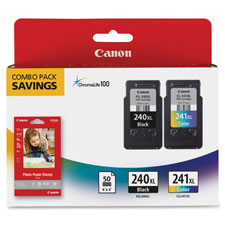 Ink cartridges value pack, canon, multi, sold as 1 package, 100 each per package