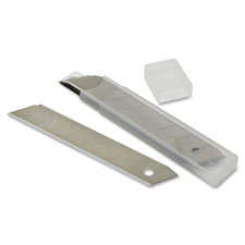 Snap-off repl blades, 18mm, 8/pk, silver, sold as 1 package, 5 each per package